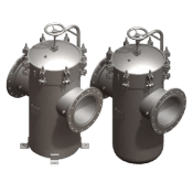 90 Series Inline basket strainer