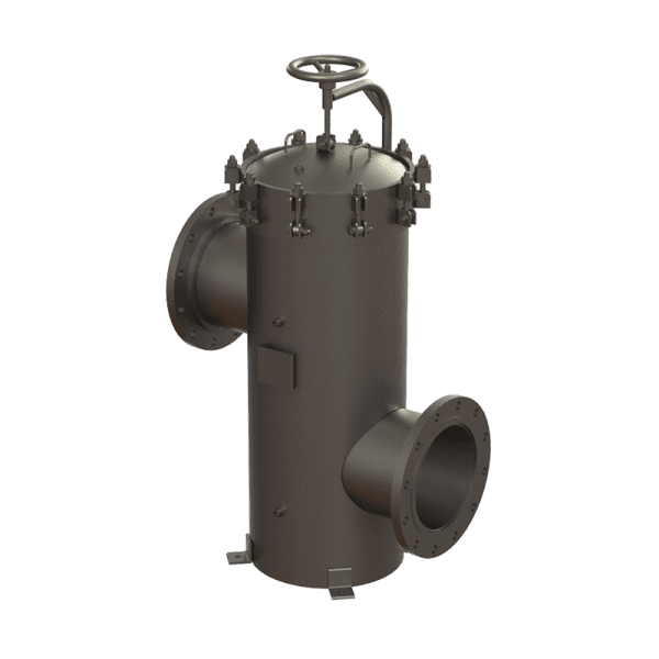 91 Series Fabricated Basket Strainers – Offset