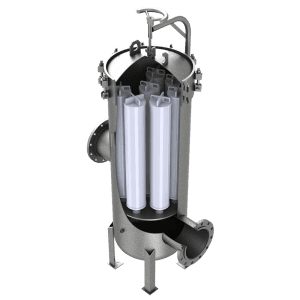 HF Series Vertical High Flow Cartridge Filter Housings