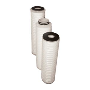 Aqua-Tec Series pleated membrane cartridge filters with polyethersulfone media, absolute rated