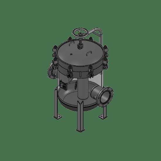 LP Series multi-bag filter housings S6LP28-812-8F-B-150